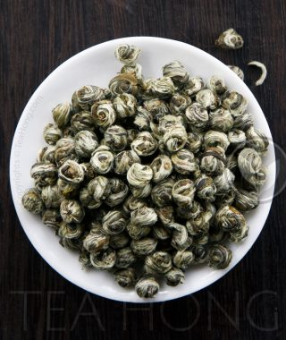 Jasmine Scented Green Tea: Honey Pearl Pekoe