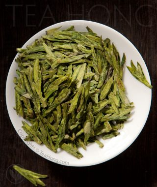 Longjing First Flush green tea