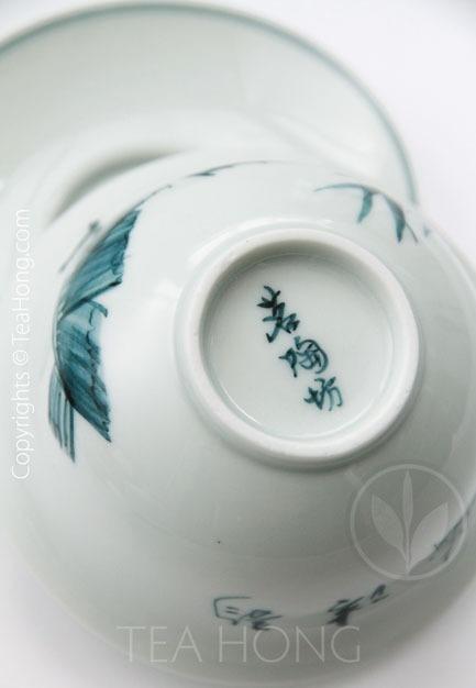 Hand-painted Gaiwan Set: Morning Melody