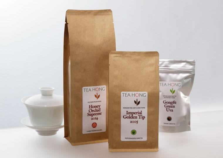 New pack sizes for Tea Hong leaf teas