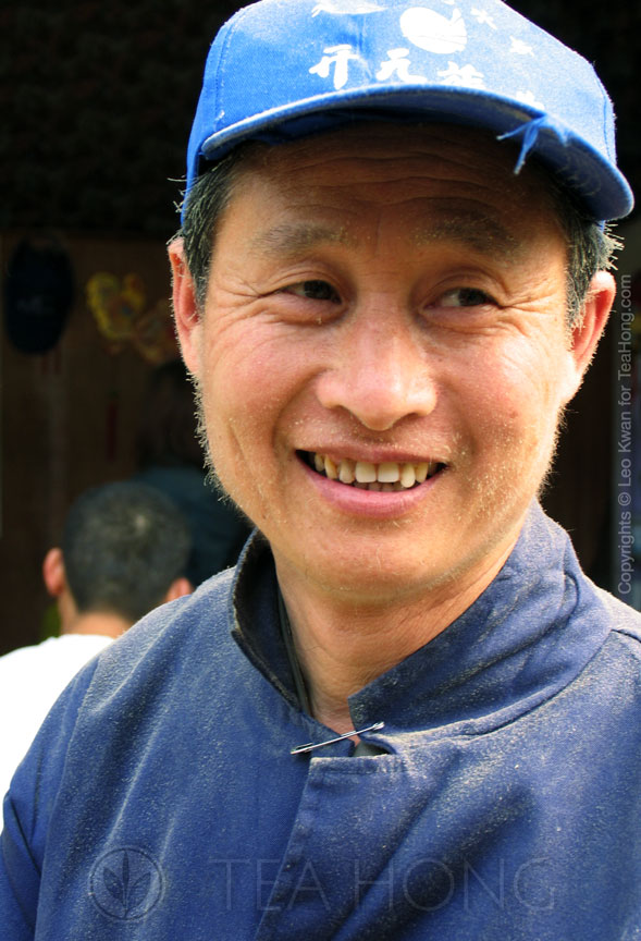 Mr Wu, Longjing farmer