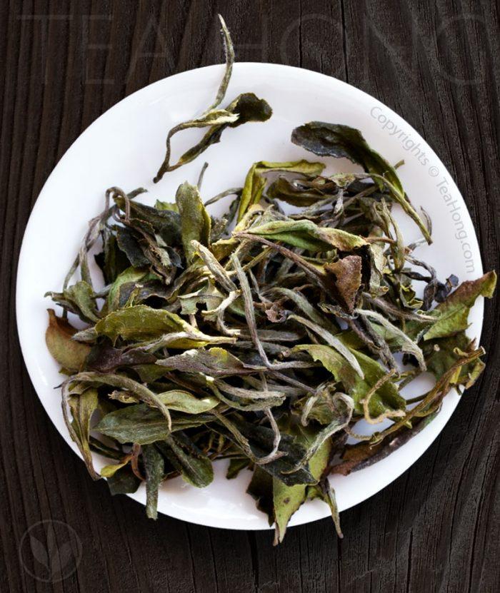 Organic white tea — Mini Peony