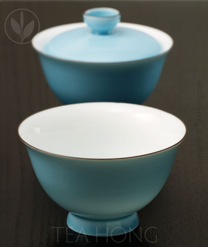 The fine kaolin porcelain that makes this gaiwan beautiful to the eye and to the touch