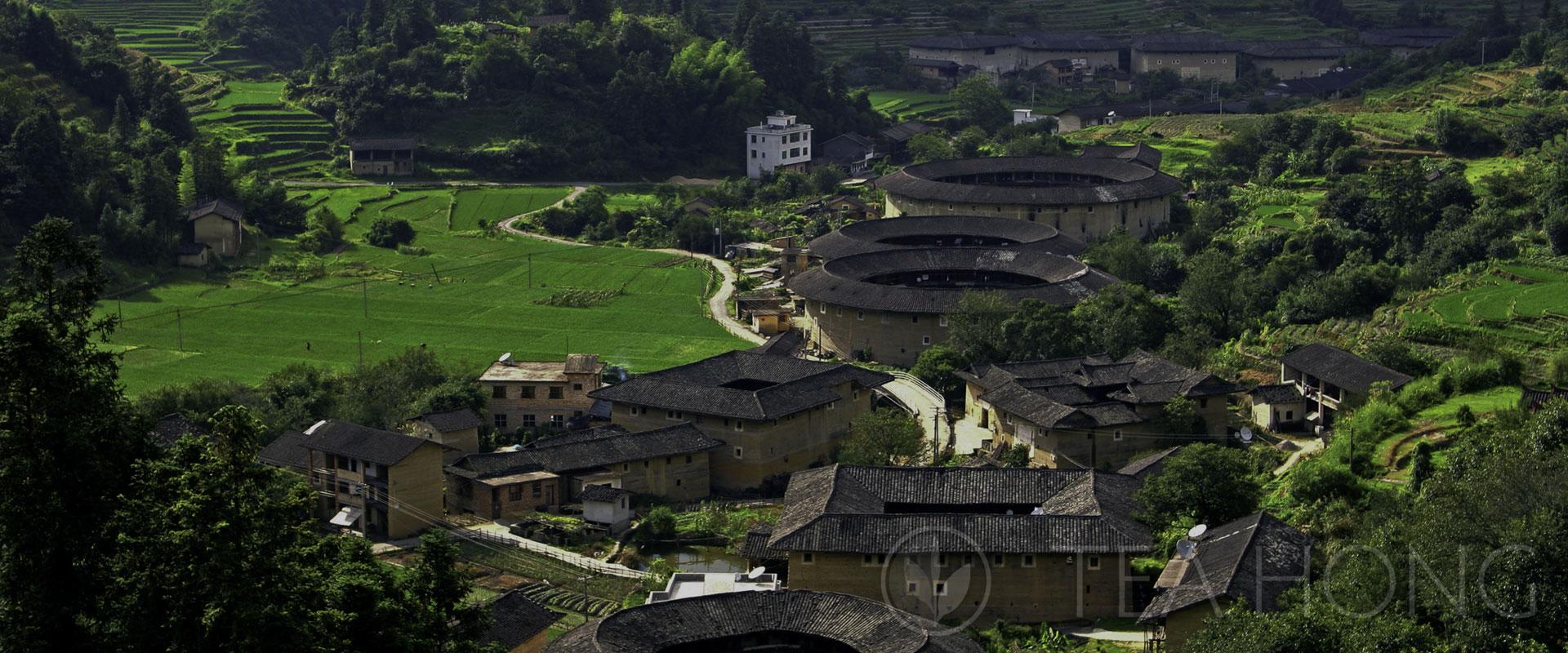 Hakka village in Mindong, Fujian