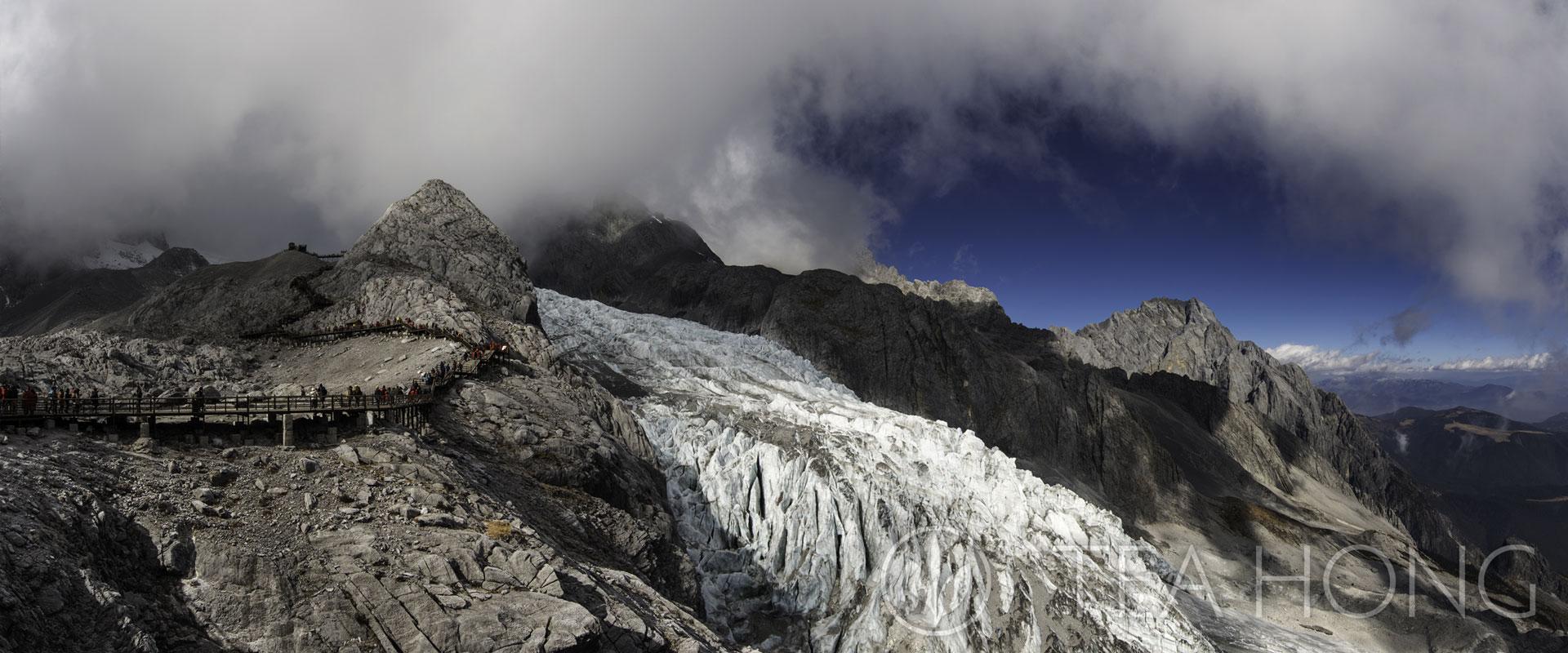 The Great Snow Peak in Yunnan