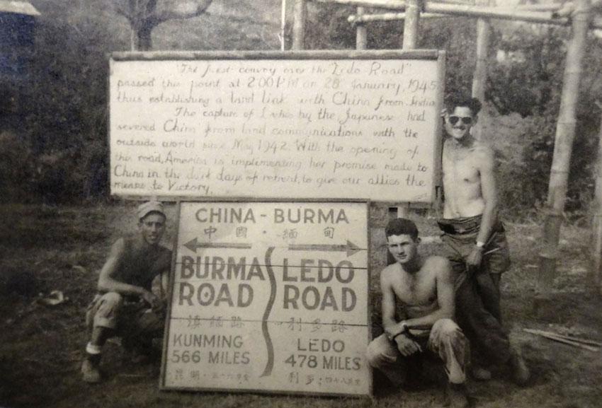Reopening of Burma Road