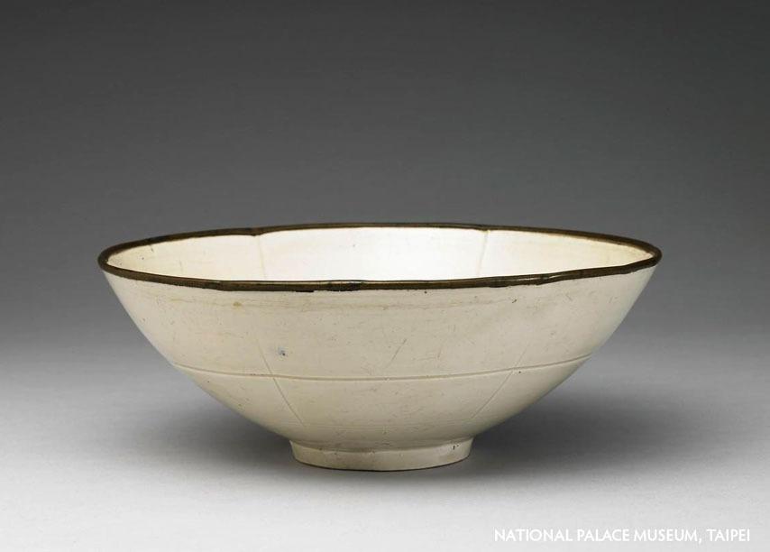 Ding Yao white bowl