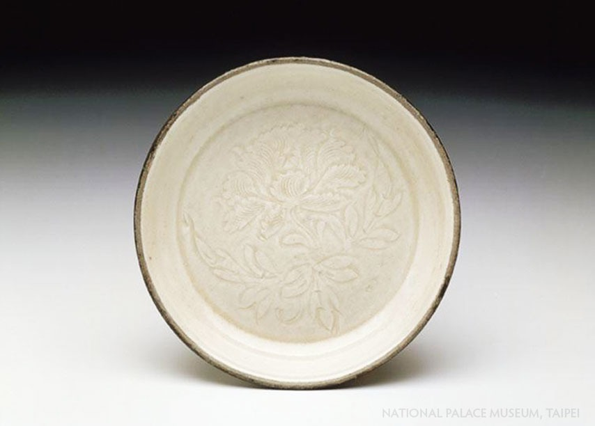 Ding Yao white plate