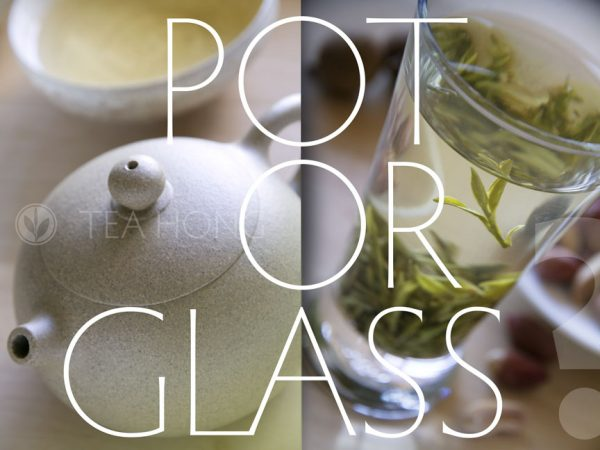 Longjing Infusion: Pot or Glass