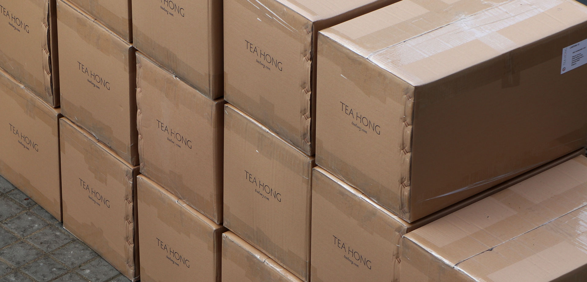 Tea Hong Shipping Cartons