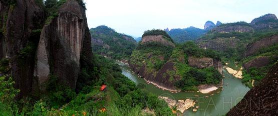 Wuyi-shan region