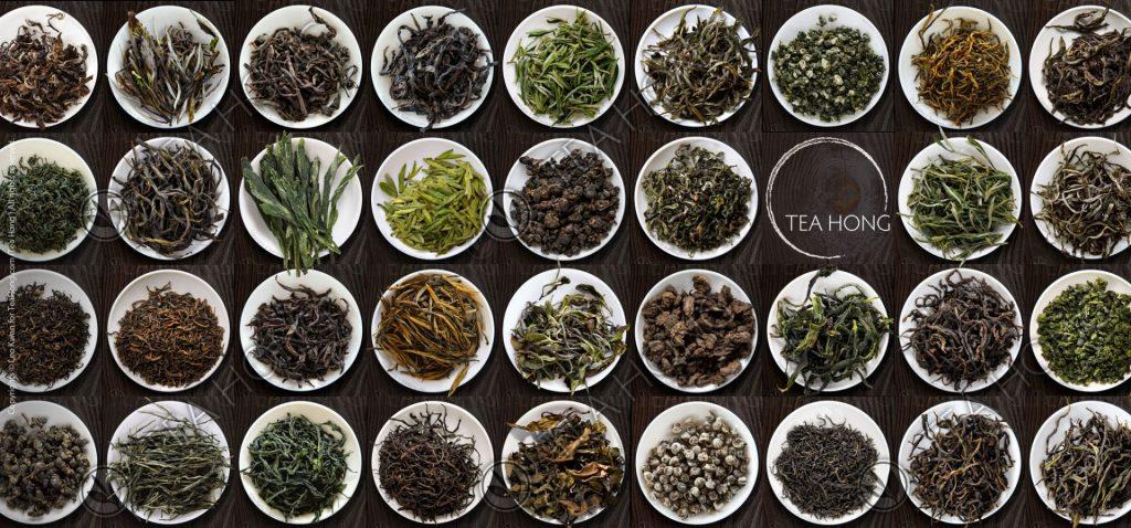 Tea Hong: some selections from Tea Hong line of fine teas