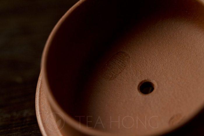 Zhou Li Ping: Shi Piao | Yixing teapot — inside of lid