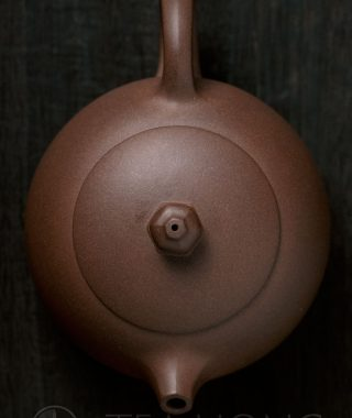 Yixing teapot — Song Ru Qiang: Duoba Xishi, top view