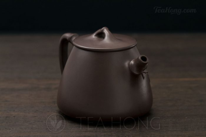 Yixing teapot — Wu Min: Bamboo Shi-piao 3Q front