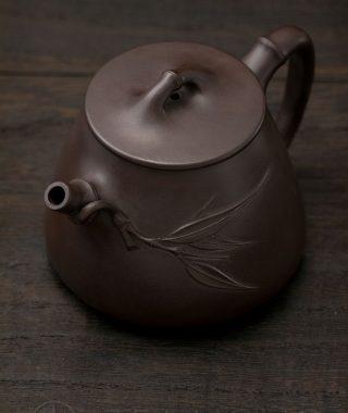 Yixing teapot — Wu Min: Bamboo Shi-piao