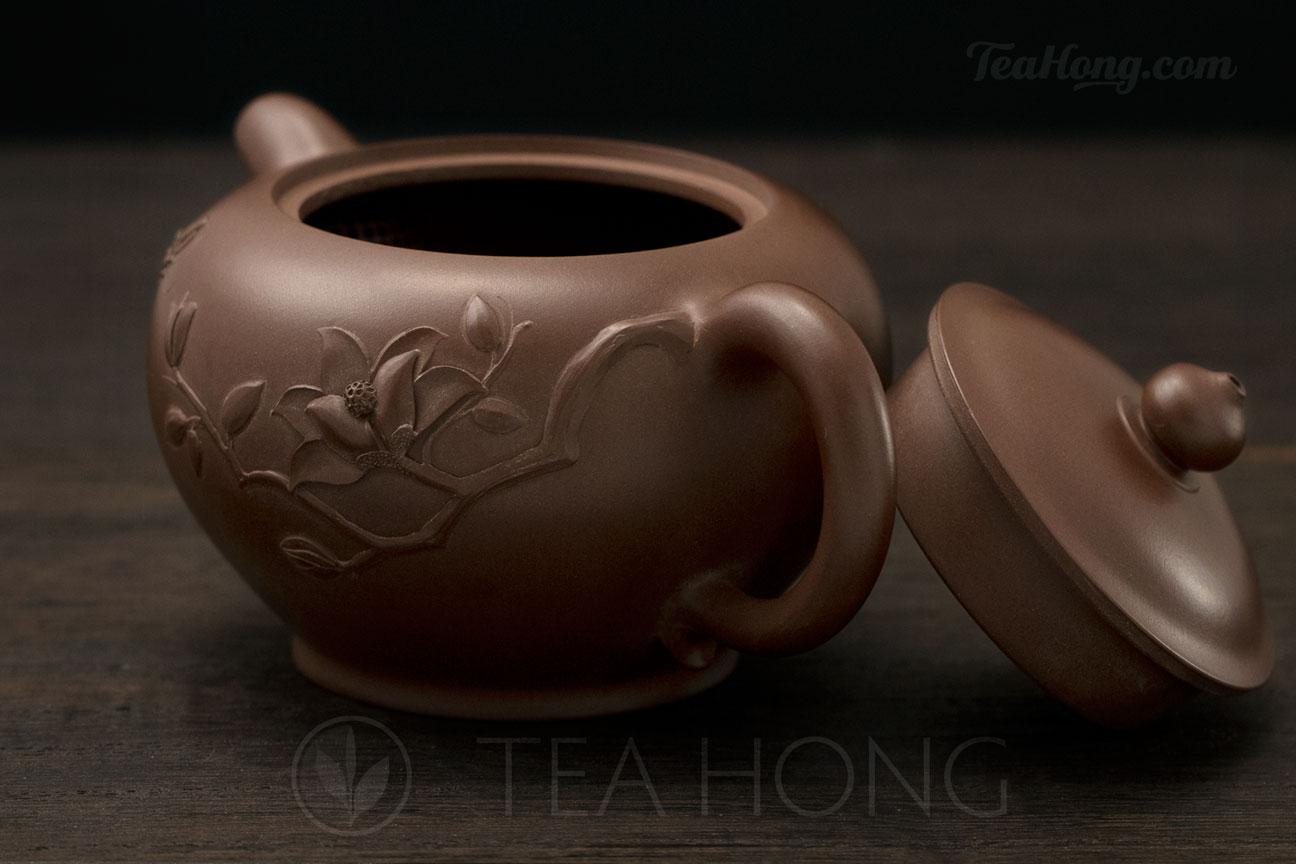 Yixing Zisha teapot by Jin Yan Ping