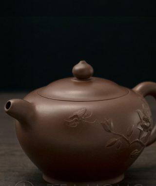 Yixing Teapot | Jin Yen Ping: Butterfly