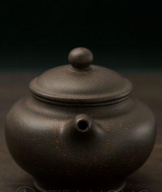 Black Steel Yixing Teapot by Min Ya Ping