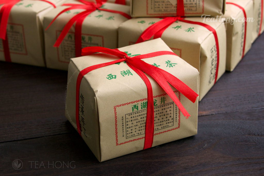 Longjing Spring Equinox, premium green tea by TeaHong.com in the