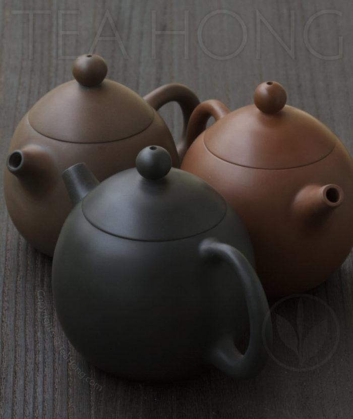 Yunnan Zitao Teapot   Yau Cheng: Dragon Egg — 3 colours