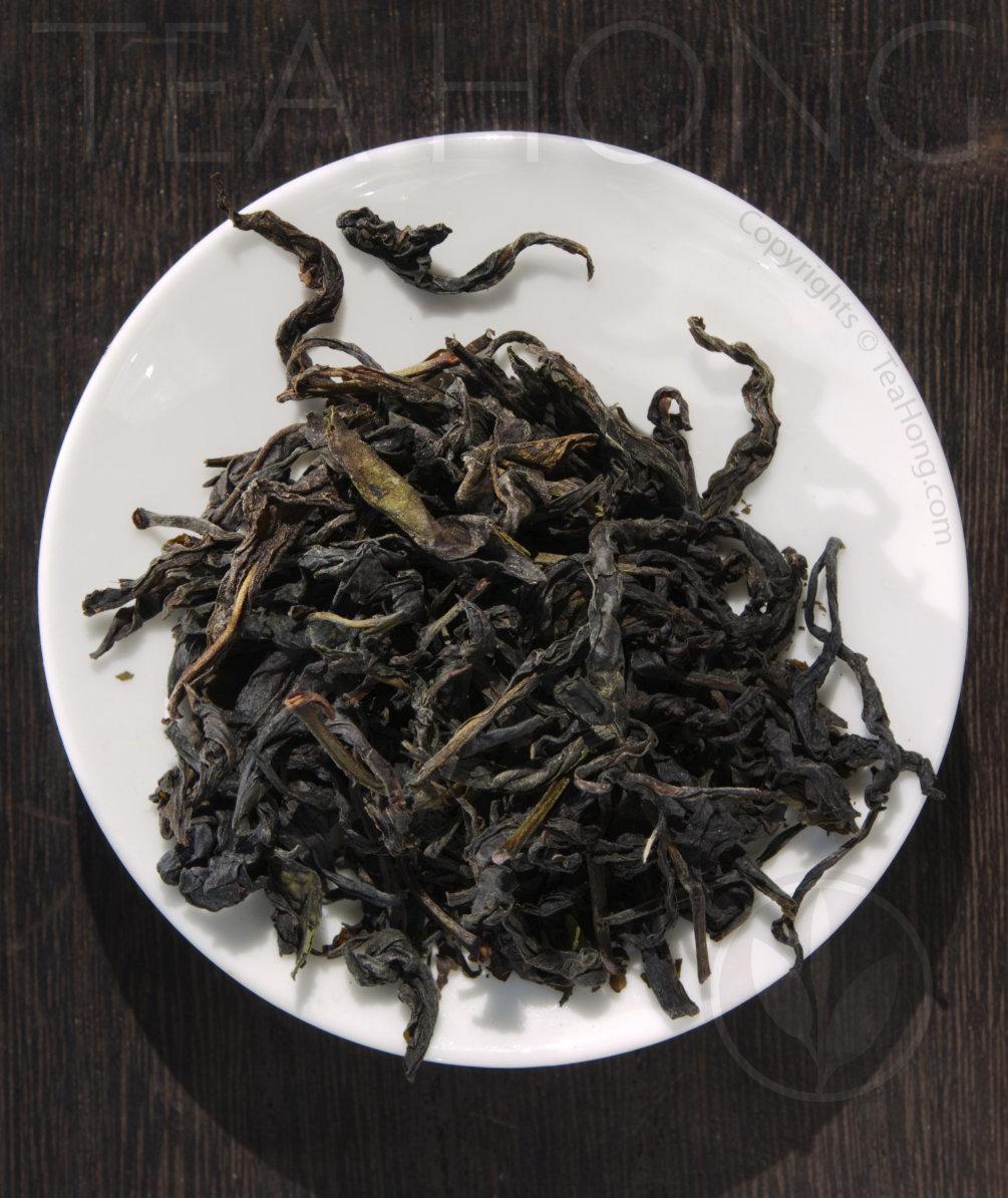 Tea leaves of Hong Yu Deep White