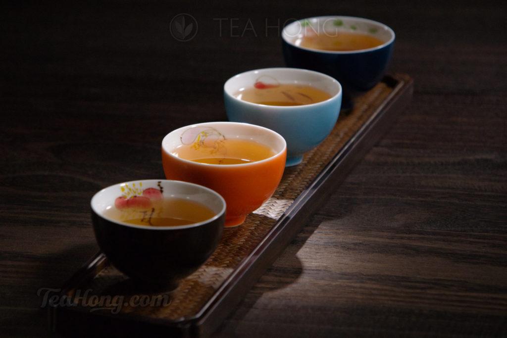 4 cups of tea