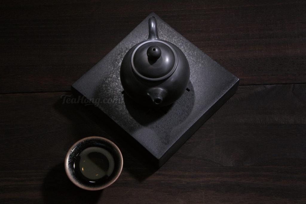 A deep baked tea