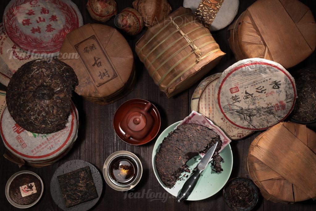 Cha Bing: Compressed tea