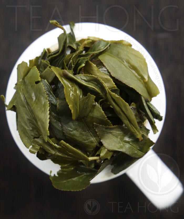 Tea Hong oolong: Wenshan Paochong infused tealeaves